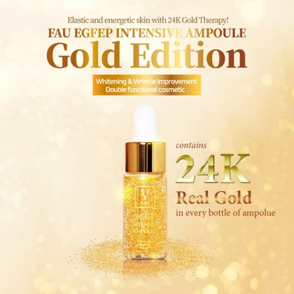 EGFEP Intensive Gold Ampoule (10ml*5) FAU Korea 100% Original
